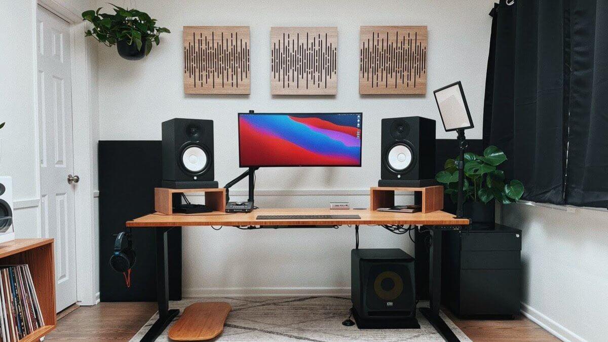 standing desk frame under 800